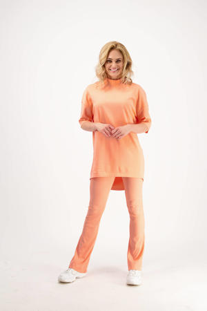 flared broek Samiya peach glow