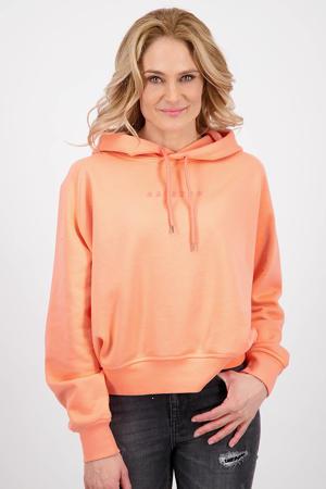 hoodie Nadine peach glow