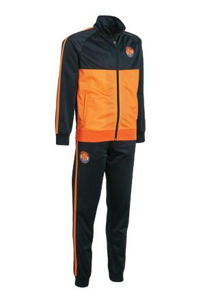 Holland trainingspak zwart/oranje