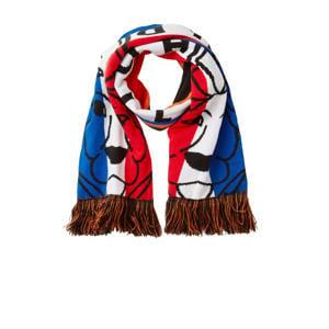Holland sjaal rood/wit/blauw/oranje
