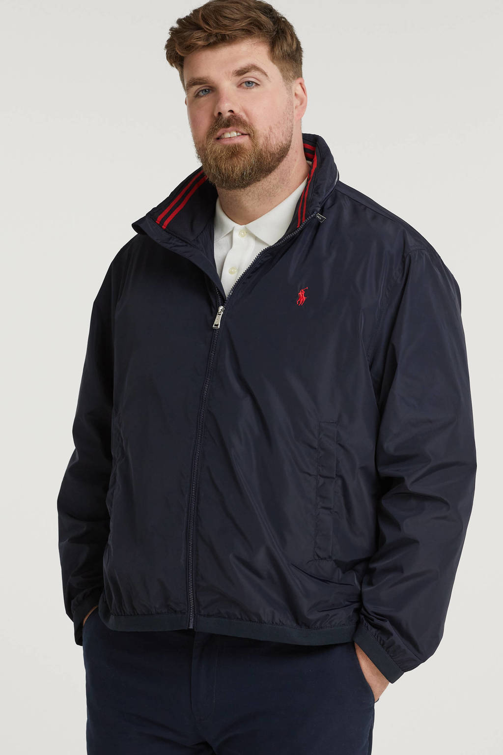 POLO Ralph Lauren Big & Tall +size jack zomer Plus Size donkerblauw, Donkerblauw