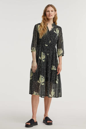 A-lijn jurk Artichoke Kisses Dark met all over print dark