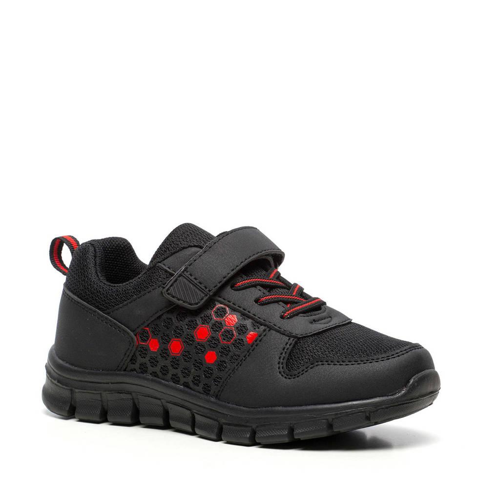 Scapino Blue Box   sneakers zwart/rood, Zwart/rood