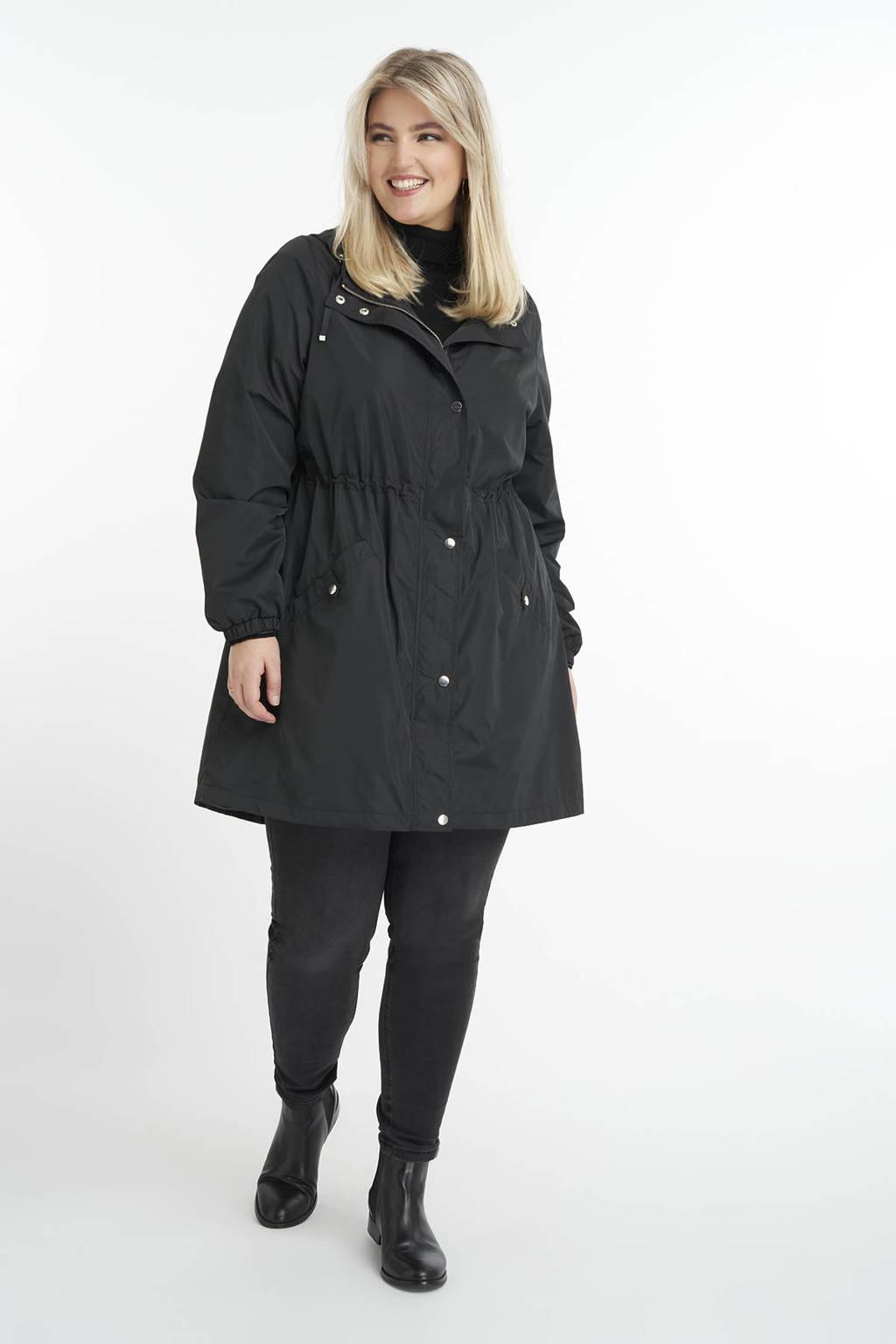 MS Mode parka zwart, Zwart