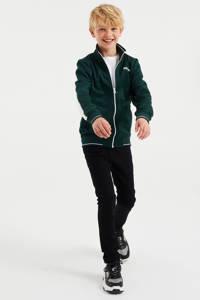 WE Fashion vest met tekst groen, Groen