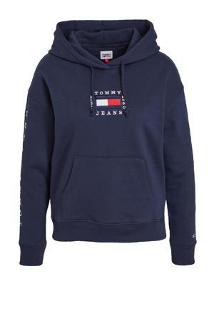 hoodie met logo twilight navy