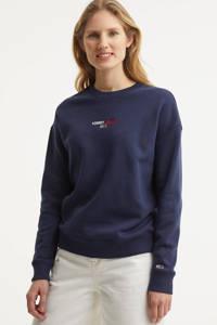 Tommy Jeans sweater met logo twilight navy, Twilight Navy