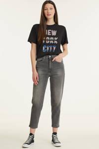 Tommy Jeans high waist mom jeans MOM ULTRA HIGH RISE TAPERED FADED JEANS tova grey com, Tova Grey Com