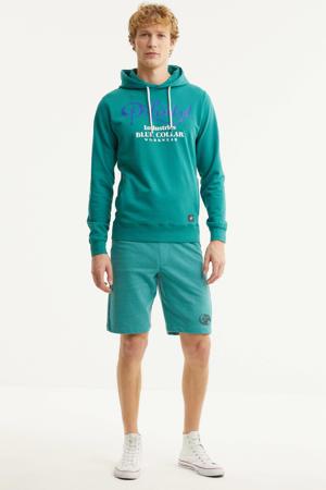 regular fit sweatshort turquoise