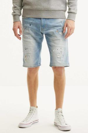 regular fit jeans short Blaze light denim