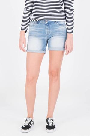 slim fit jeans short Rachel lichtblauw
