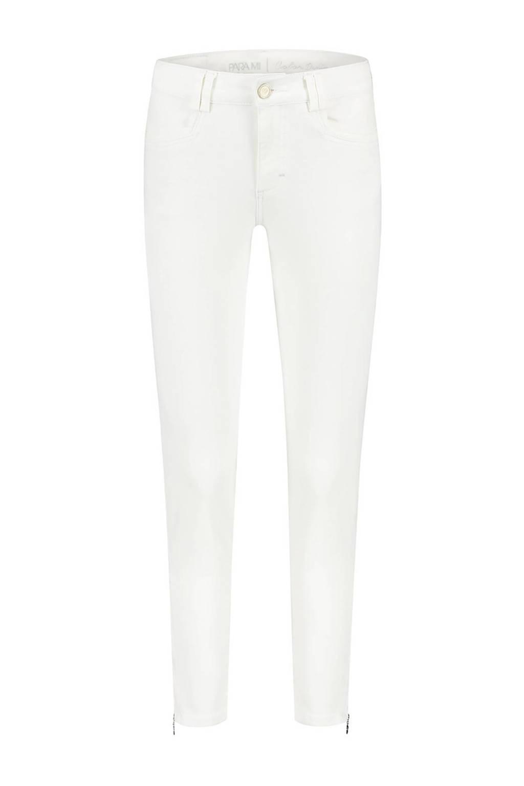 Para Mi high waist skinny jeans Amber 002 - white, 002 - White