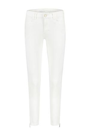 high waist skinny jeans Amber 002 - white