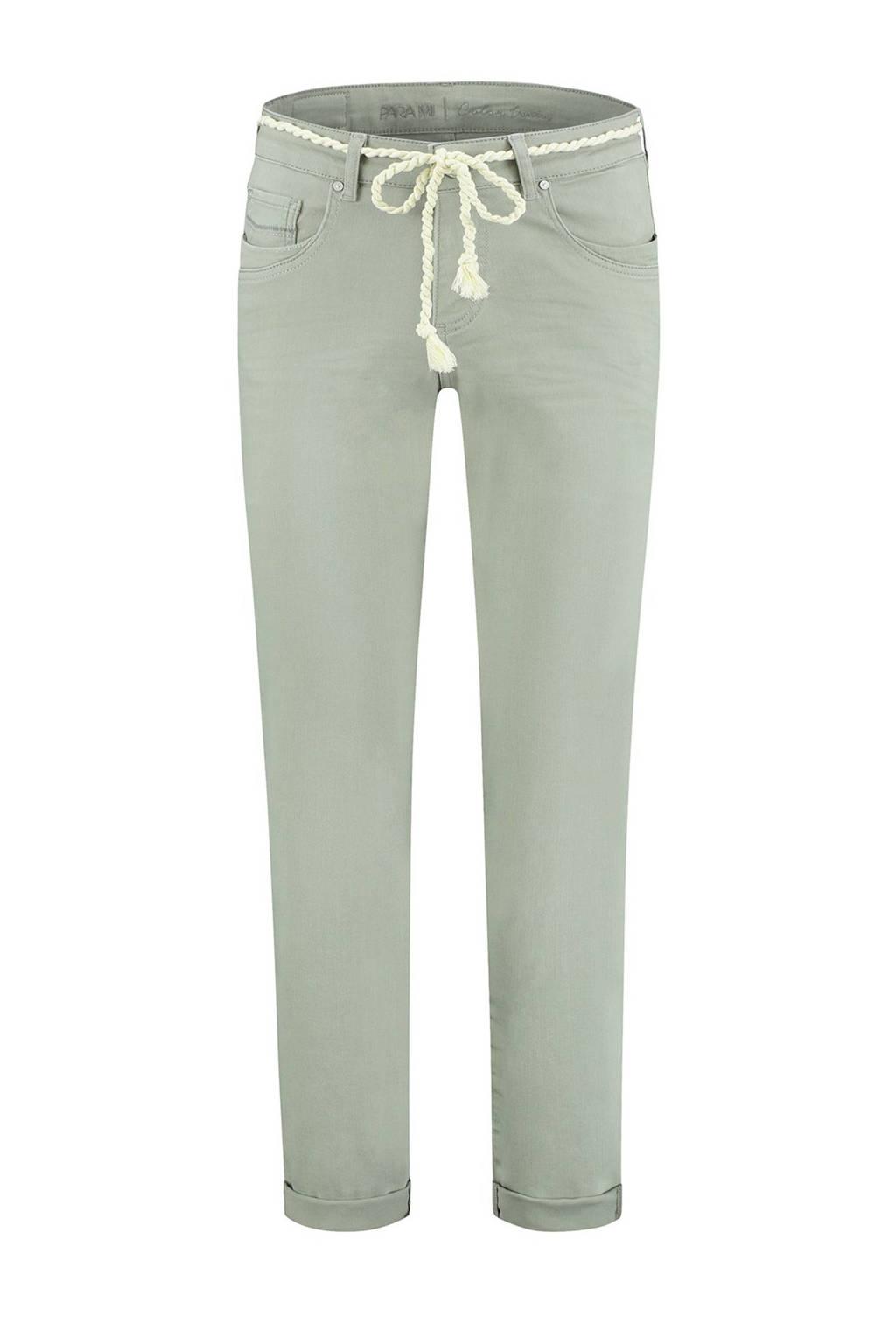 Para Mi high waist boyfriend fit jeans Bobby 614 - desert sage, 614 - Desert Sage