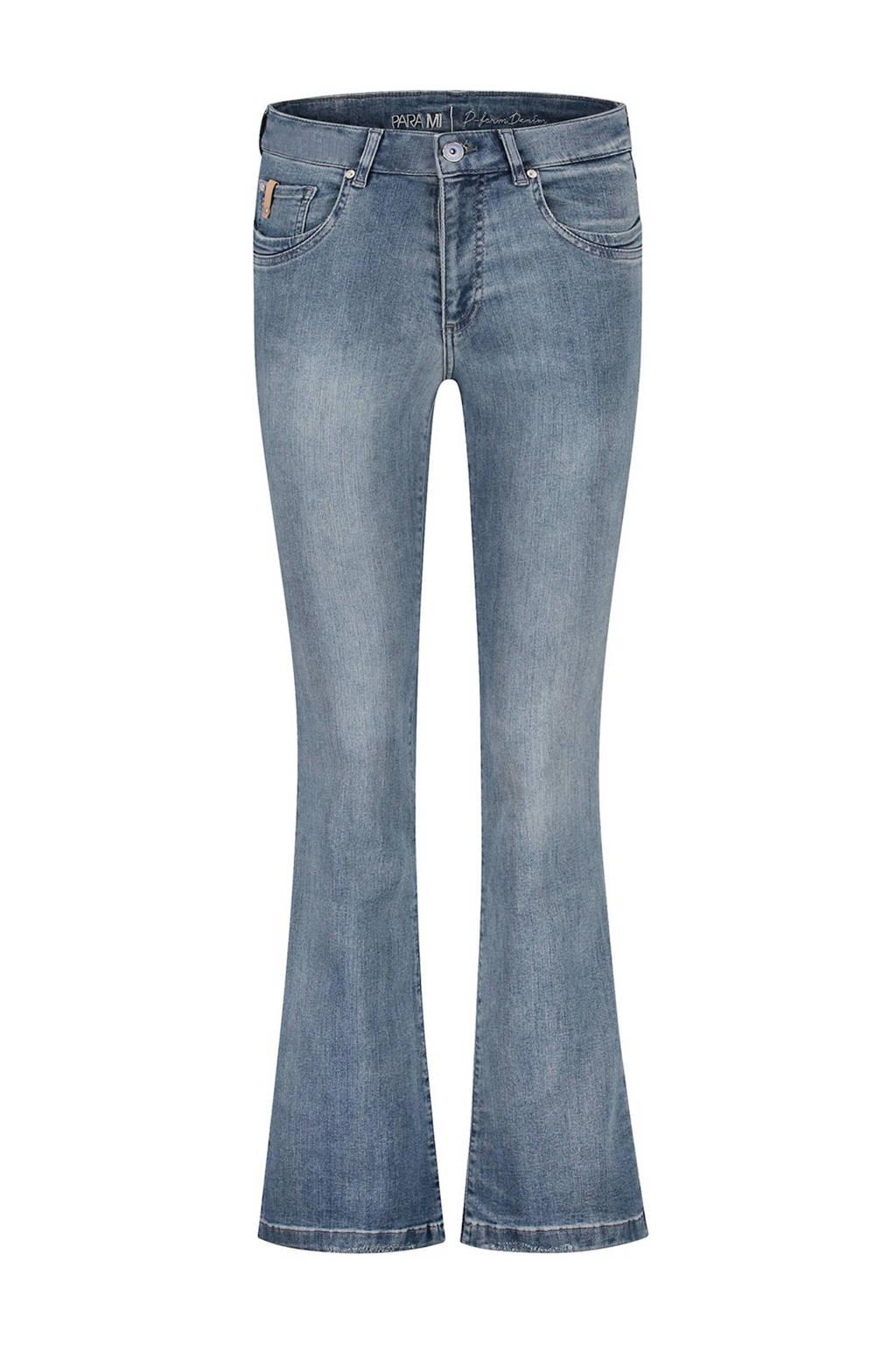 Para Mi high waist flared jeans Jade d85 - light shadow, D85 - Light Shadow