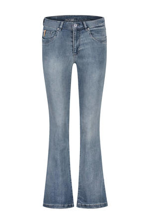 high waist flared jeans Jade d85 - light shadow