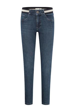 high waist skinny fit jeans Celine (Elastic) d01 - old blue