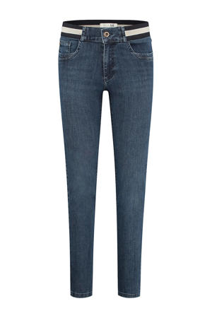 high waist straight fit jeans Bobby d01 - old blue