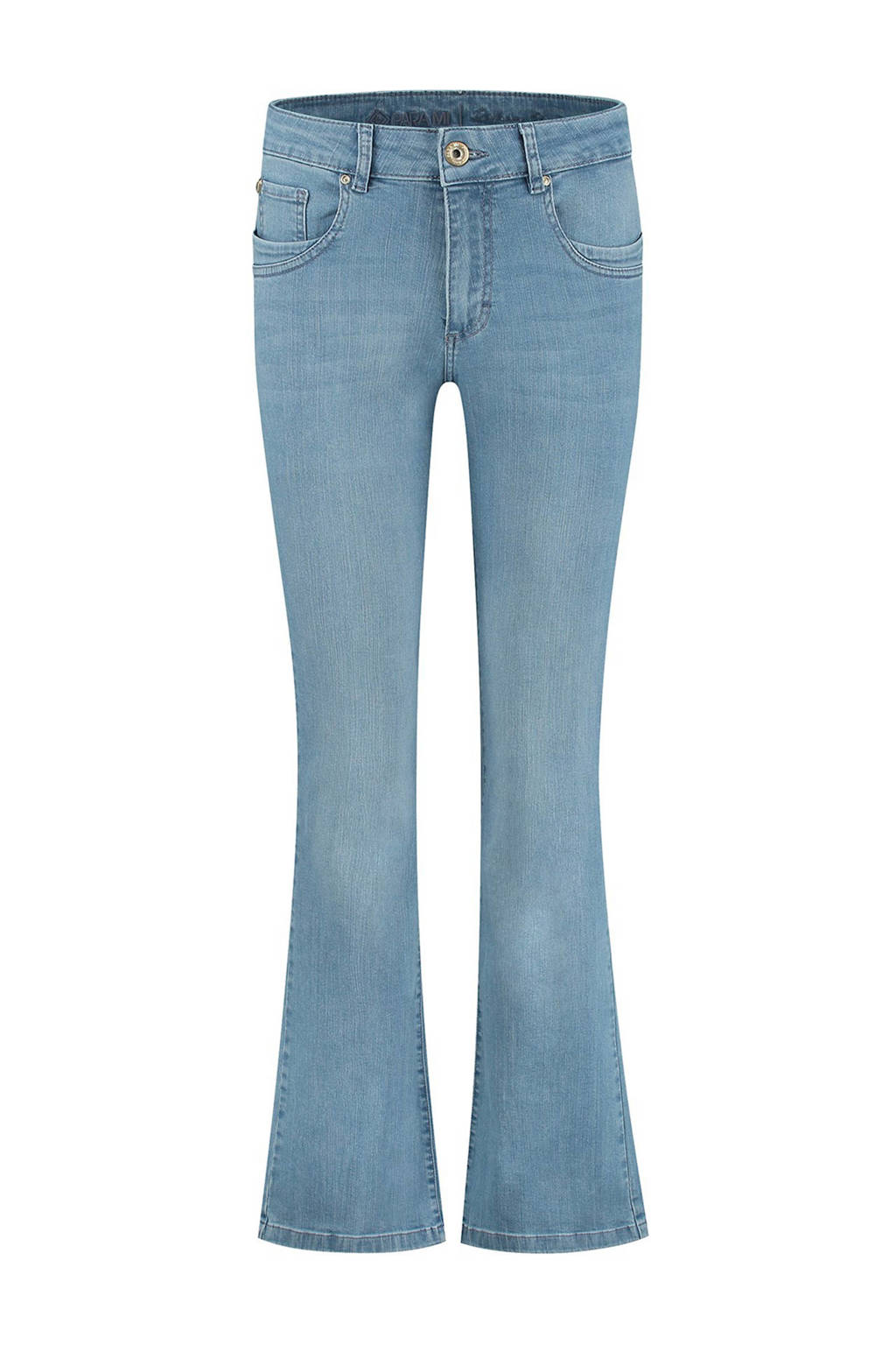Para Mi high waist flared jeans Jade d61 - water blue, D61 - Water blue