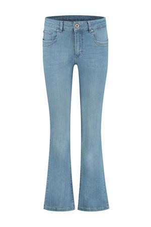 high waist flared jeans Jade d61 - water blue