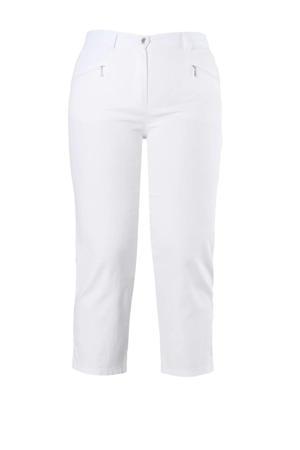 cropped slim fit capri jeans Mony wit