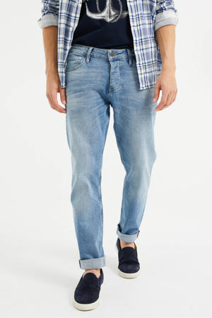 tapered fit jeans light denim