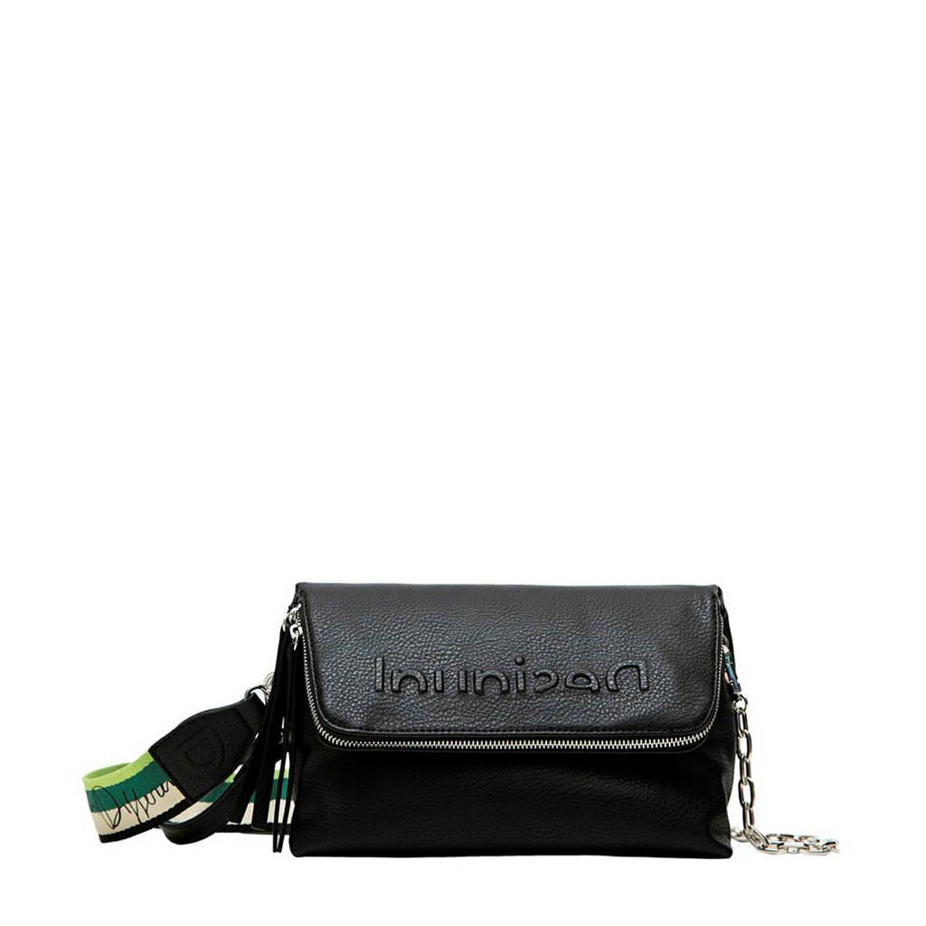 Desigual  crossbody tas zwart, Zwart