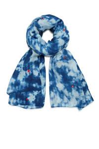 Desigual sjaal blauw, Blauw