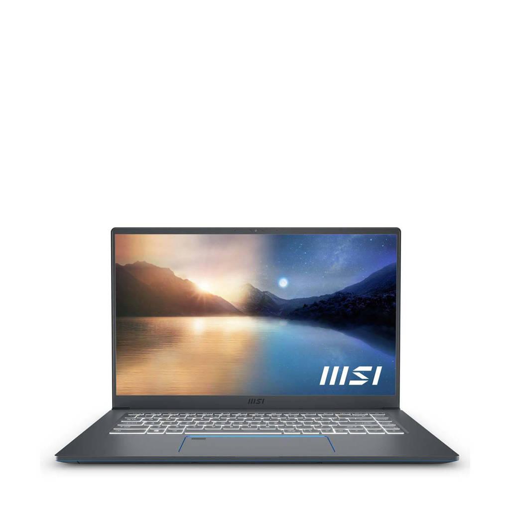 MSI PRESTIGE 15 A11SCS-008NL 15.6 inch Full HD laptop, Grijs