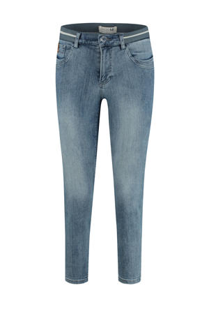 slim fit capri jeans light shadow