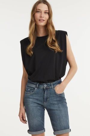 skinny jeans short Lyndsey medium stone