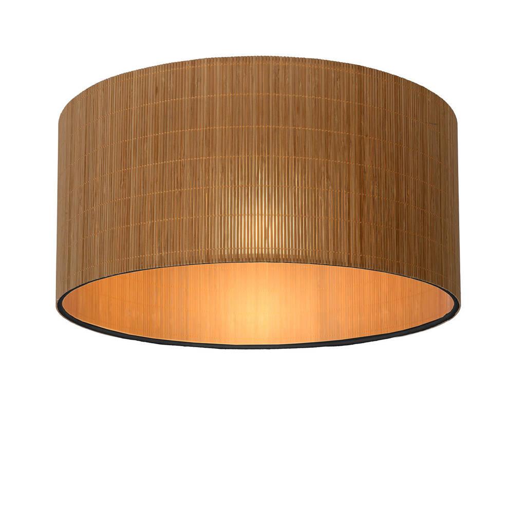 Lucide Plafondlamp Magius, Licht hout, Zwart