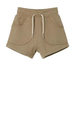 sweatshort Silondon groen
