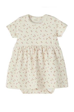 baby jurk met romper Gaya met biologisch katoen creme