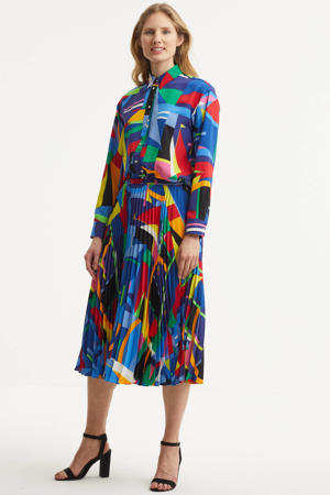 rok Suzu met all over print multi