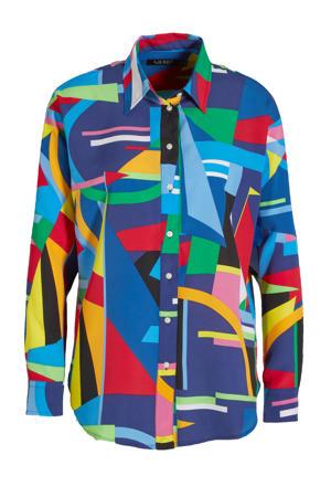 blouse Kotta met all over print multi