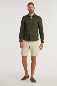 SELECTED HOMME regular fit bermuda Chester Flex beige, Beige