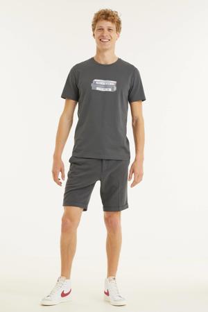 T-shirt Jaames vhs van biologisch katoen zwart