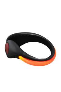 Rucanor   schoenclip met lampjes, Oranje/zwart