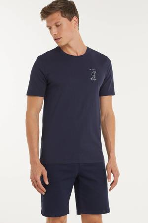 T-shirt Jaames ok cool van biologisch katoen marine