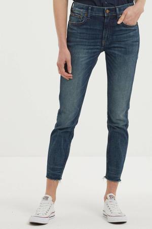 cropped skinny jeans dark denim