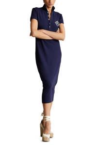POLO Ralph Lauren jurk met logo donkerblauw, Donkerblauw