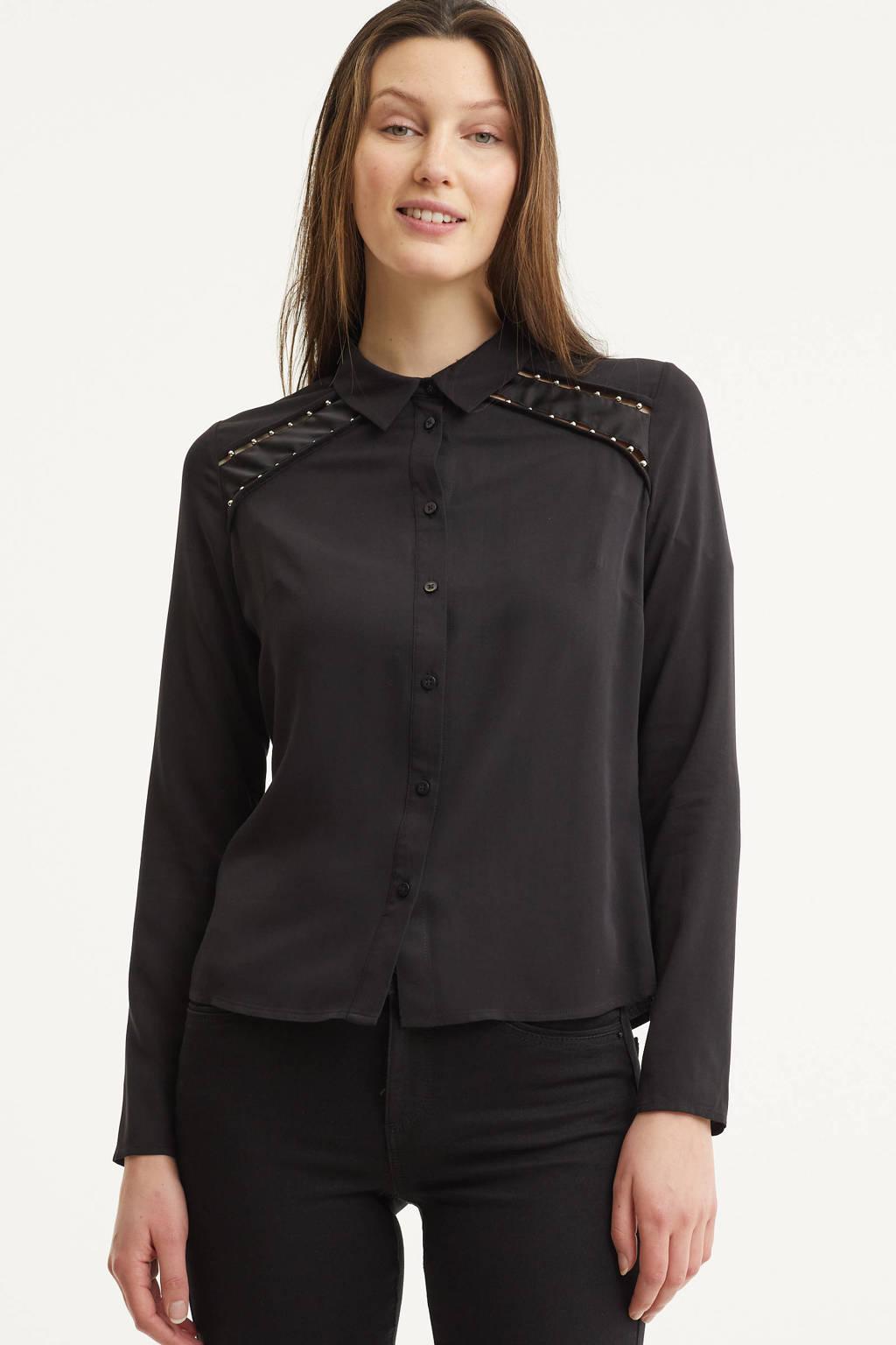 GUESS blouse zwart, Zwart