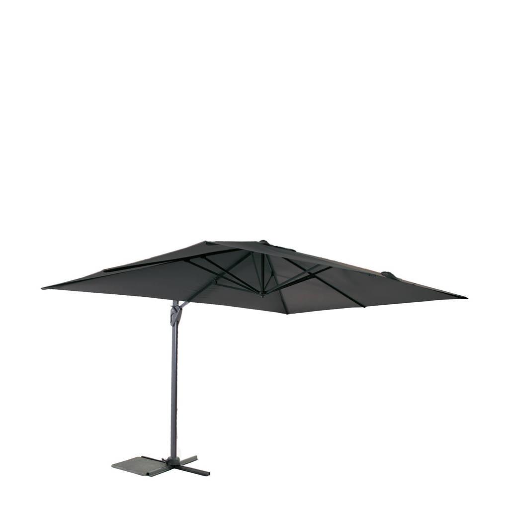 SenS-Line parasol Curaçao (300x400 cm), Antraciet