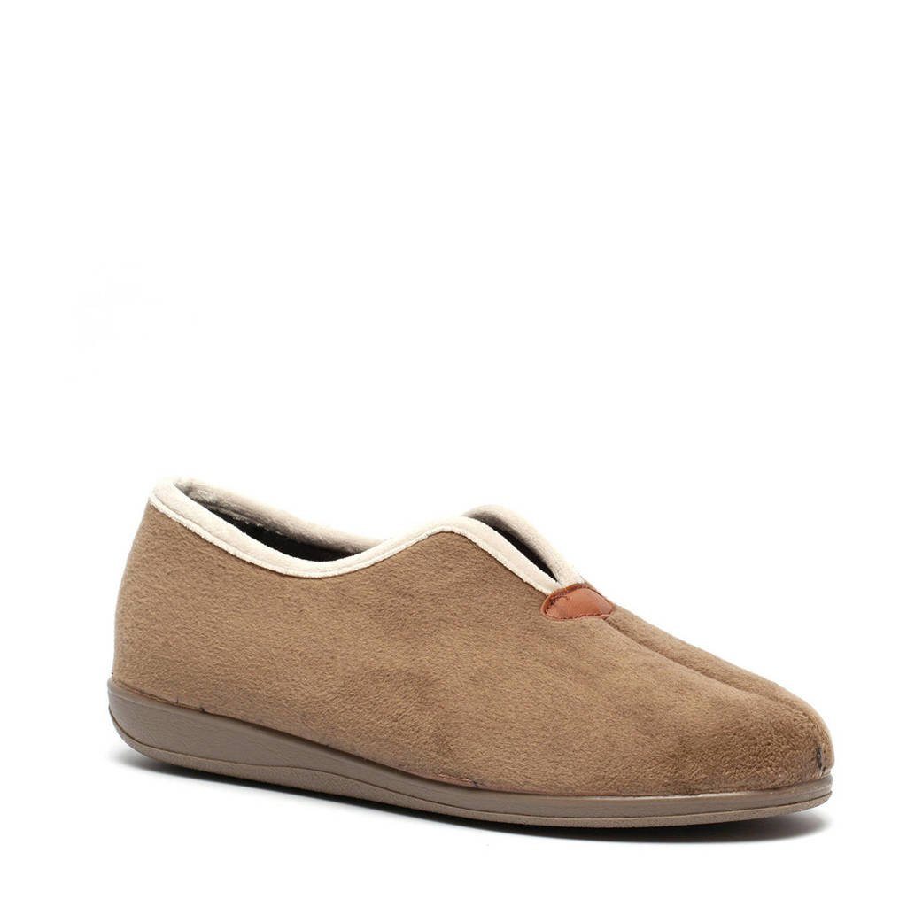 Scapino pantoffels taupe, Taupe