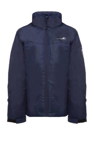 kids outdoor jas donkerblauw