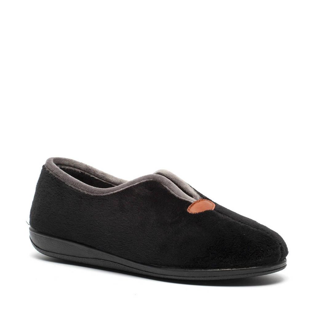 Scapino pantoffels zwart, Zwart