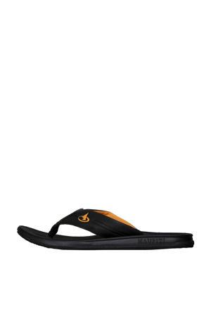 Flip Flop  teenslippers zwart/oranje