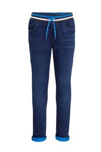 C&A Palomino thermo jogdenim donkerblauw/blauw, Donkerblauw/blauw/wit
