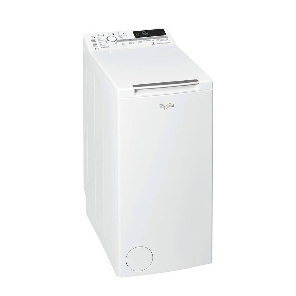 Whirlpool TDLR 7221BS BX/N vrijstaande bovenlader wasmachine